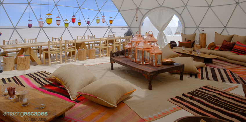 Pacifc Domes - Amazing Escapes Dome