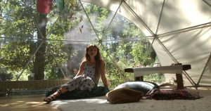 Pacific Domes Owner and Founder, Asha Deliverance