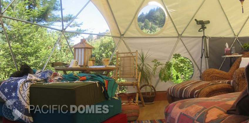 Dwell dome, Pacific Domes - Studio Dome