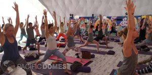 Pacific Domes - Yoga Dome