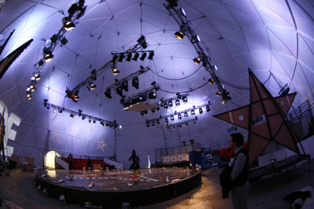 Sky1 Dance TV Geodesic Event Dome