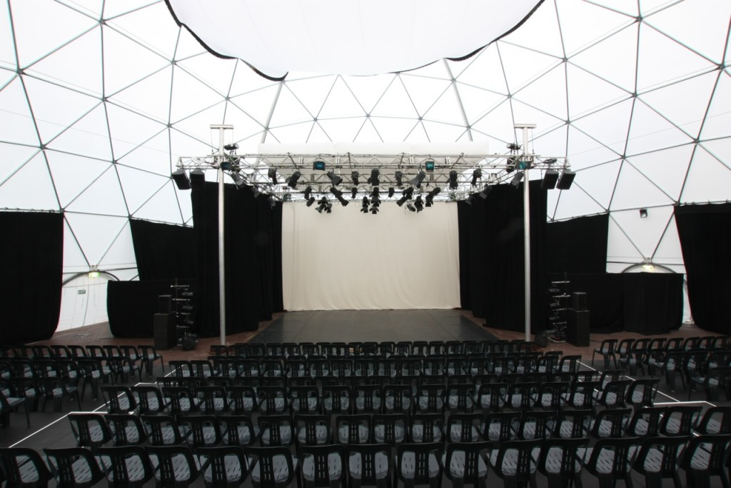 Performance Arts Festival Dome – Amphitheater for Body Fest