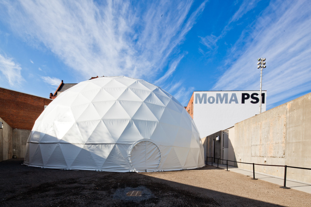 MoMa PS1 Geodesic Event Tent for Rent