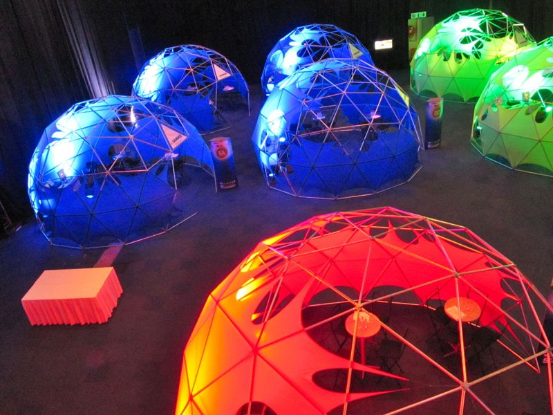 Event Tents for Trade Shows - Geodesic Domes