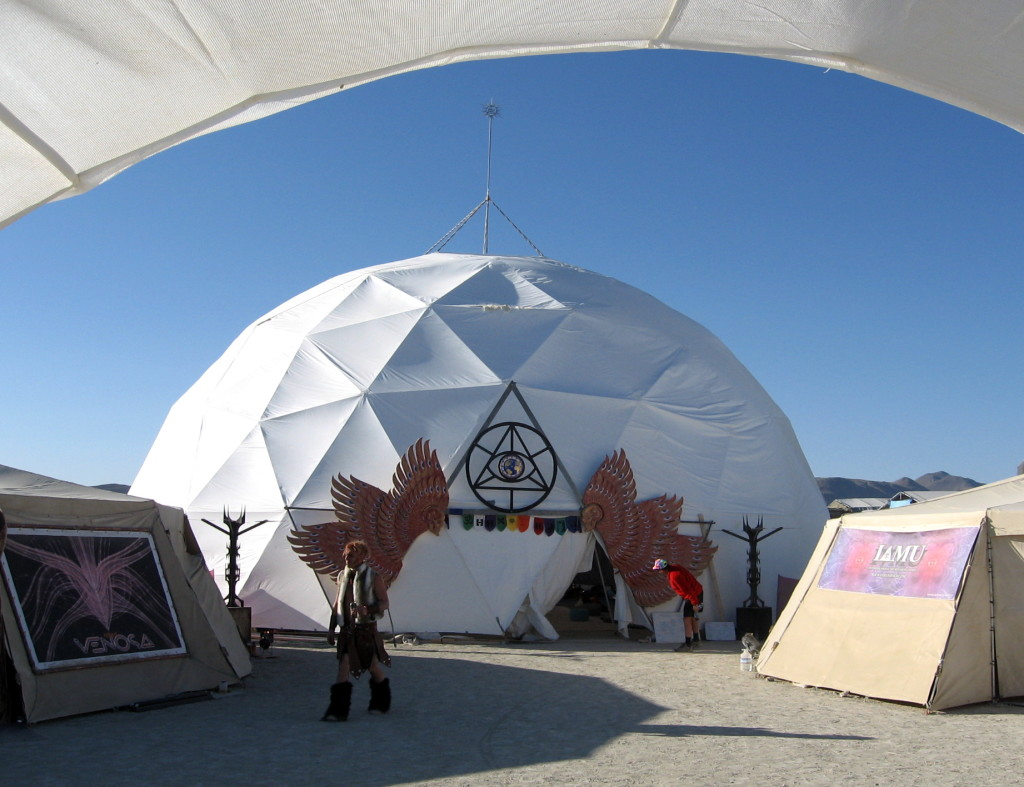 Burning Man Domes - Festival Dome Tents