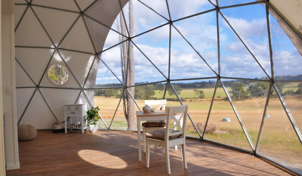 Mile End Glamping Domes, Australia