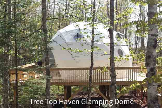 Tree Top Haven Glamping Dome