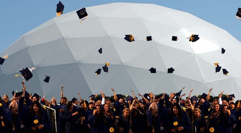 Graduation Dome Pacific Domes