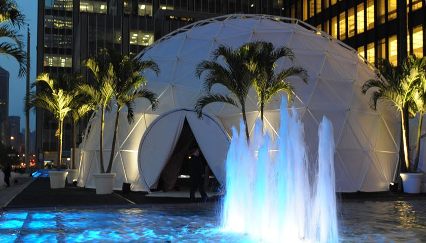 Waterfront Pacific Domes - Event Dome