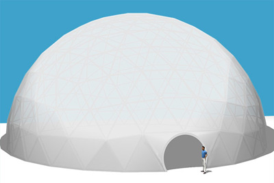 Pacific Domes - 90ft Event Dome