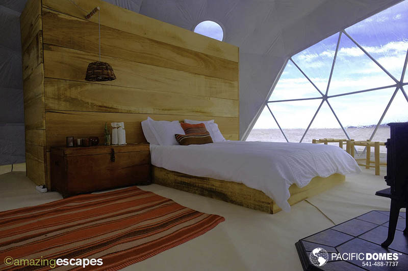Glamping Dome Shelters by Pacific Domes Inc.
