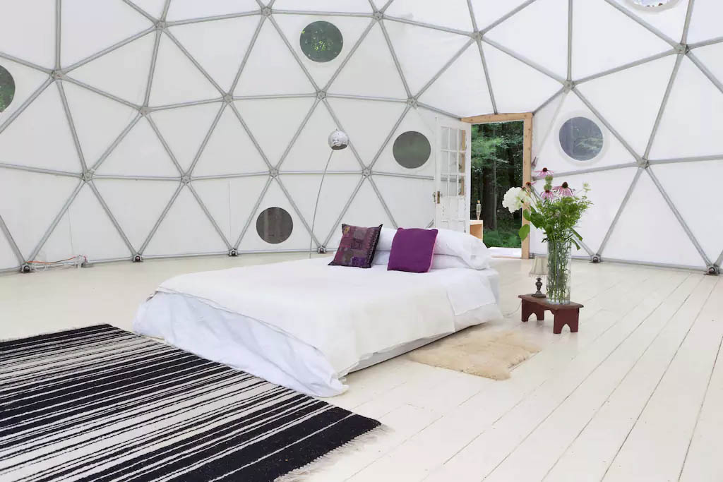 AirBnB Dome Rental - Pacific Domes