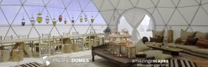 Geodesic Dome Camp Pacific Domes