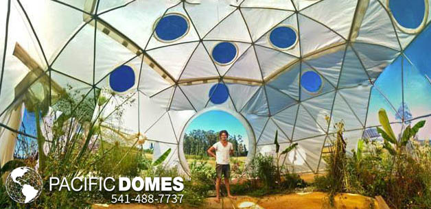 Prefab Geodesic Dome Greenhosues for sale