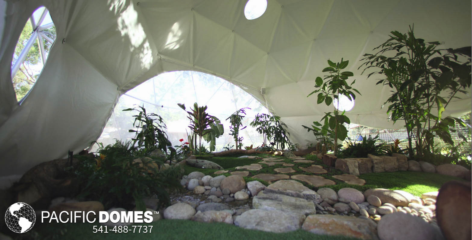 Outdoor GrowDome Classroom - Pacific Domes