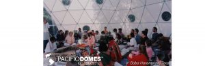 Baba Harinanda Blessing Dome Pacific Domes