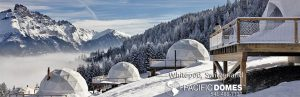 Whitepod Hotel Glamping Pacific Domes