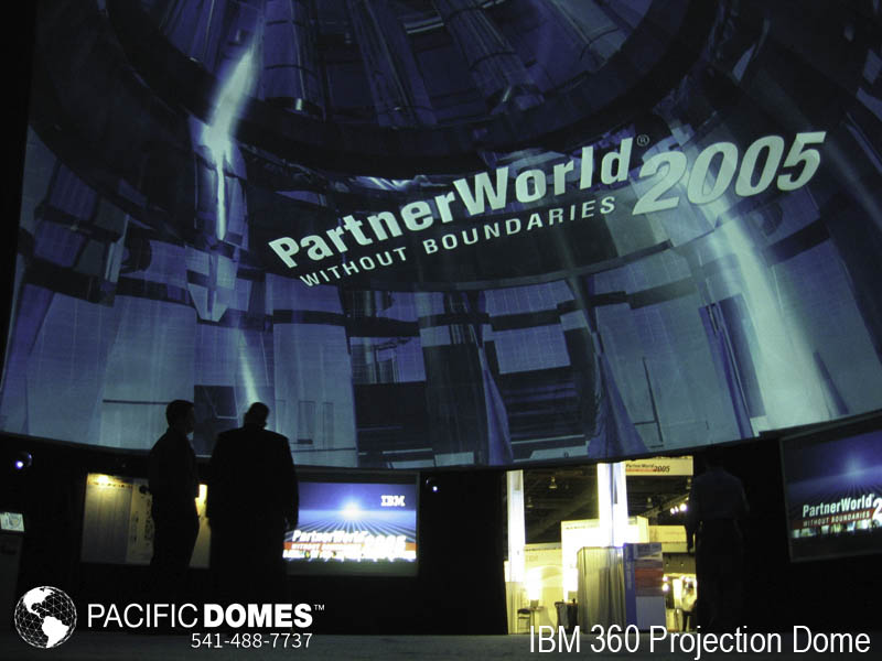 IBM Projection Dome-Pacific Domes