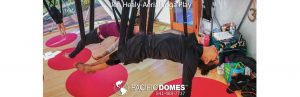 Jen Healy Aerial Yoga Pacific Domes