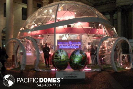 "Tecnodomes – ""An All Pink Dome"""