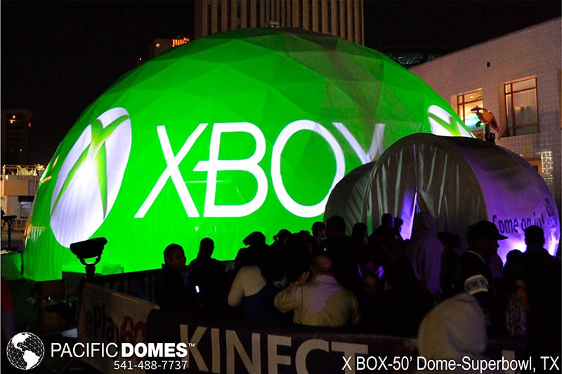 XBOX-Pacific Domes, experiential marketing event campaign