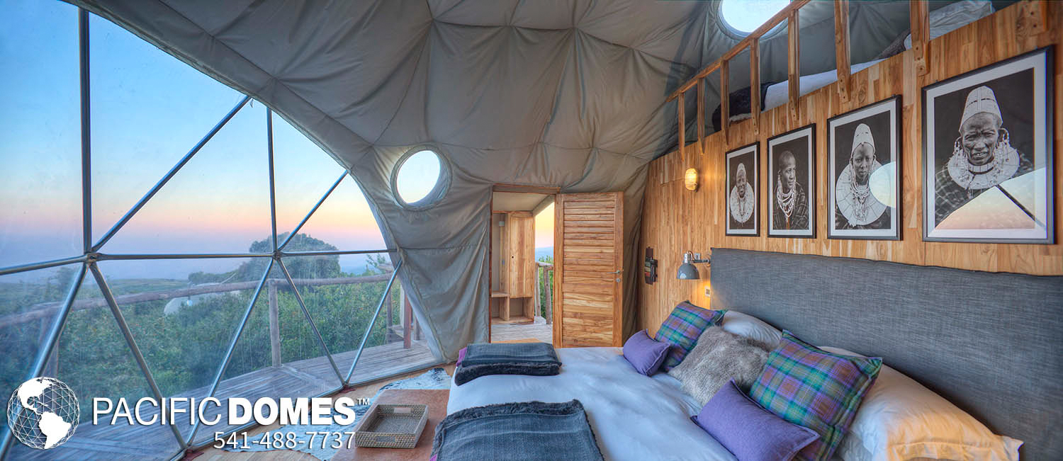 Eco-Resort Dome Glamping - Pacific Domes
