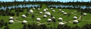Pacific Domes - 3d Domes Rendering
