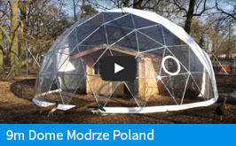 Pacific Domes EU - 9m Dome Installation - Modrze Poland
