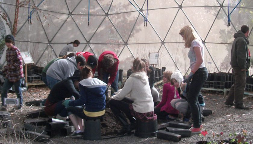 Education in Greenhouse Domes-Pacific Domes