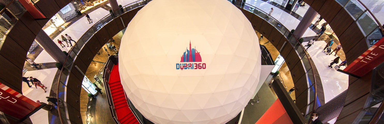 Pacific Domes Dubai Projection Sphere