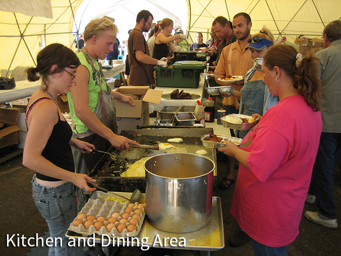 Pacific Domes - Relief Kitchen