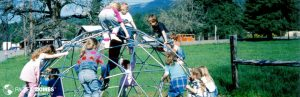 playground geodome climbers, outdoor education classrooms