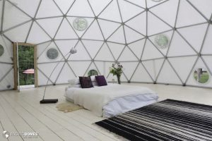Zen Dome Bedroom-Pacific Domes