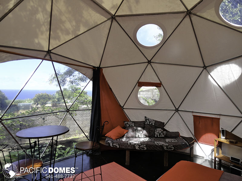Bubble tent, bubble dome