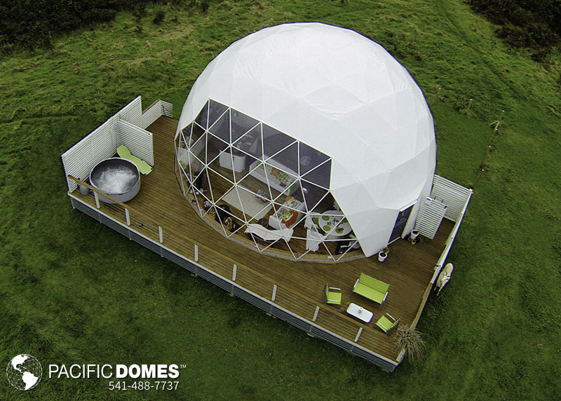 eco dome home building
