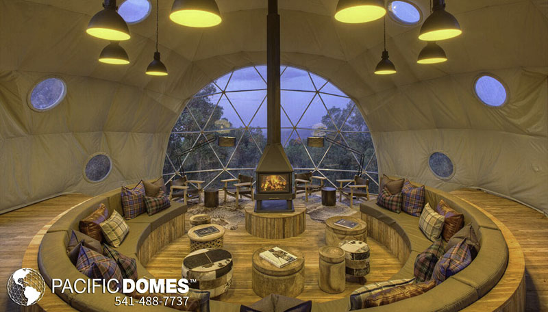 geodesic dome home building, prefab eco home building