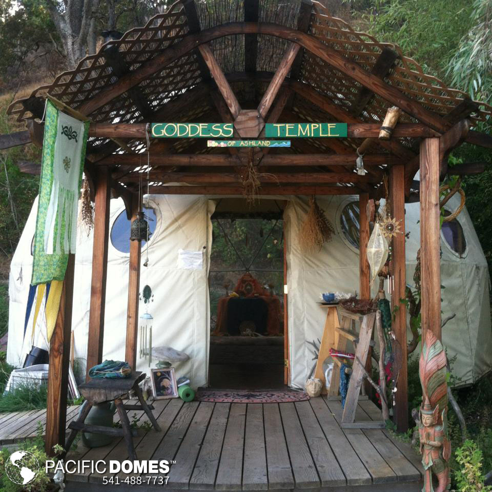 Beltane Festival, temple dome, sacred space, prayer in a dome, Ashland OR