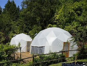 Pacific Domes Greenhouse Domes