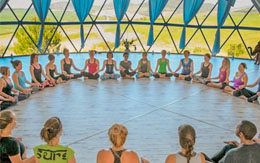 Pacific Domes Yoga Dome