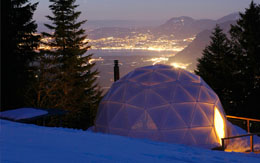 Whitepod Winter Resort Dome