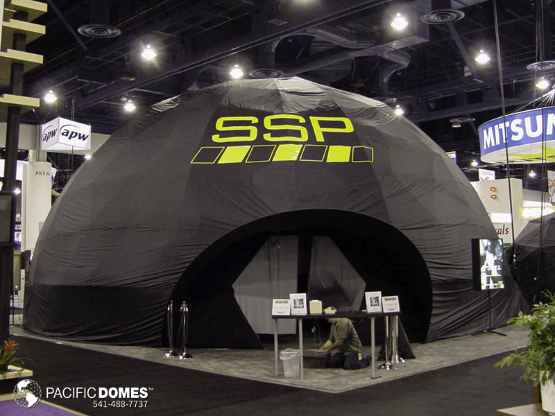 vr projection dome theater