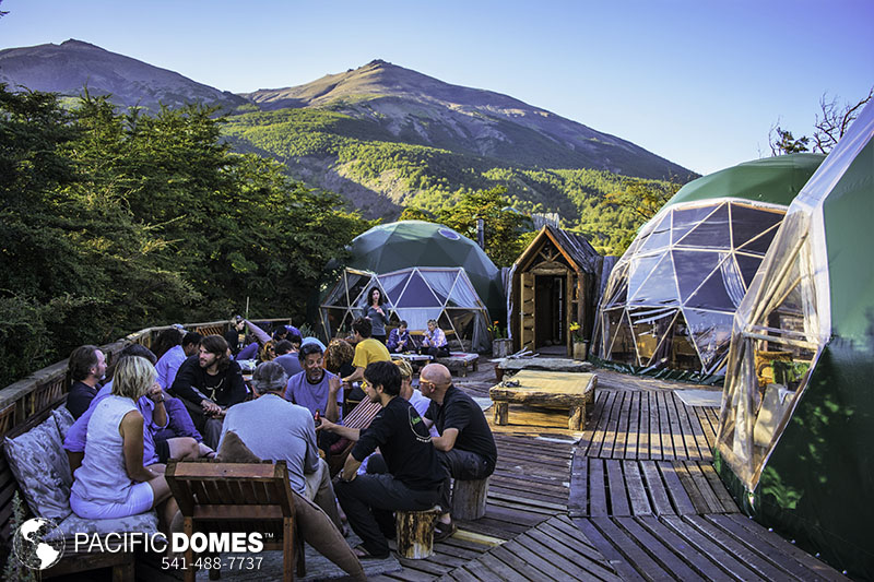 sustainable geodesic domes, responsible tourism