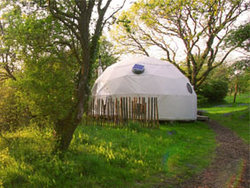 Geodesic Glamping Domes