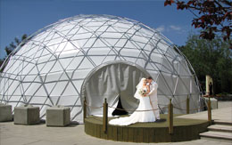 Geodesic Wedding Dome