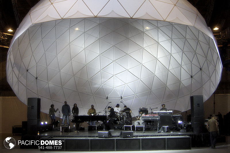 concert domes