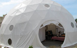 Medical Relief Dome - Haiti