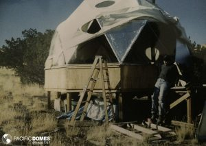 Insulating the Arizona dome home
