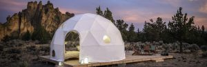 airbnb eclipse dome