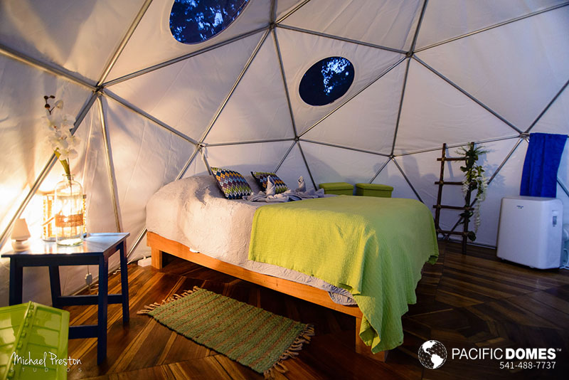 glamping dome resort, pacific domes