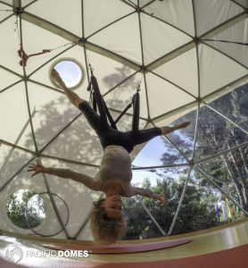 yoga dome swing